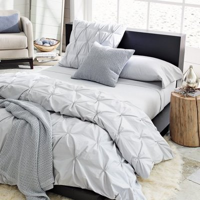 Blue Comforter on West Elm Blue Bedding